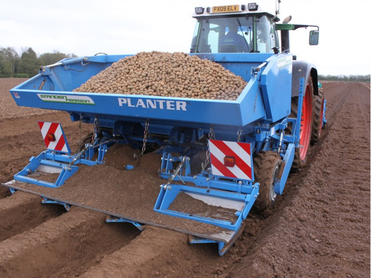 Standen Sp330 3 Row Potato Planter Standen