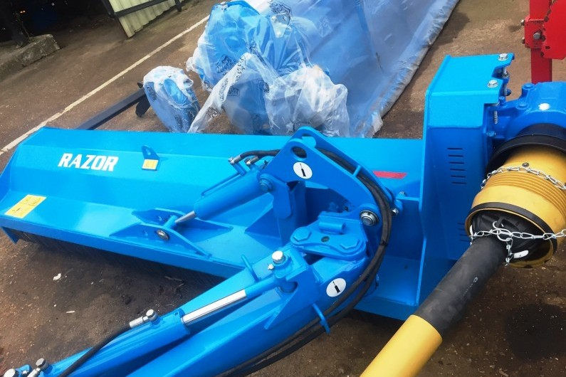 Standen Razor PSE Rear Mounted Offset Mulcher