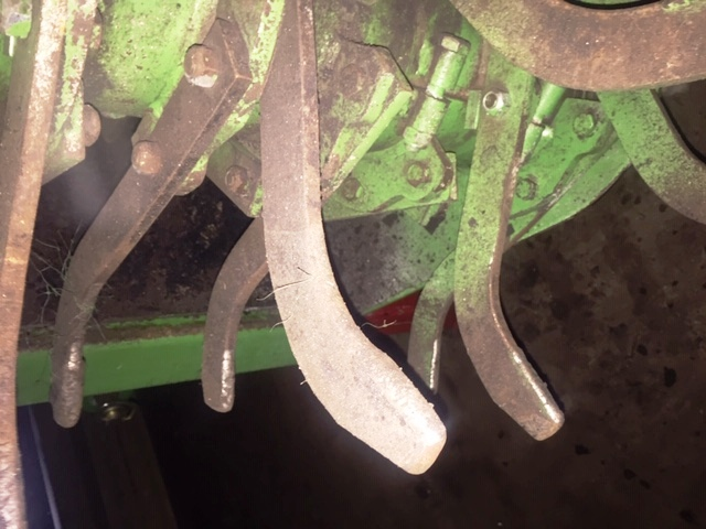 Used Baselier Hook Tine Cultivator 2016