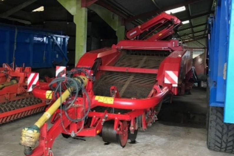 Used Grimme GT170 M Harvester