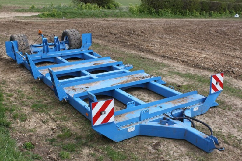 Used Standen SP644 3 Bed Quad Planter