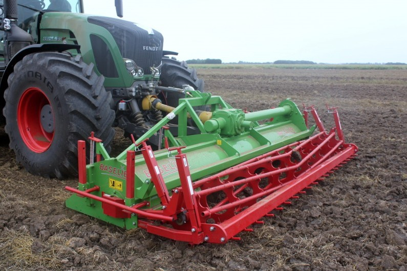 BASELIER Front Mounted Compact Cultivator