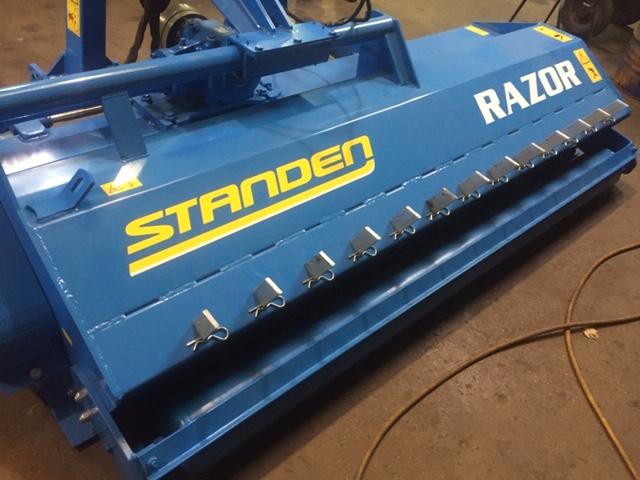 Used Standen Razor T Mulcher 2