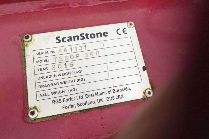 Scanstone Used Triple Bed Tiller 2015