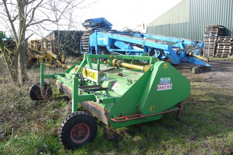 Used Baselier LKA280sd Haulm Topper