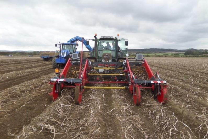 Ex Demo Tolmac Harvester 1