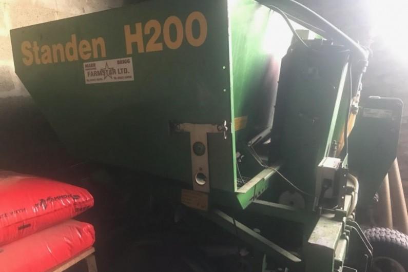 Used Standen H200 2 Row Potato Planter