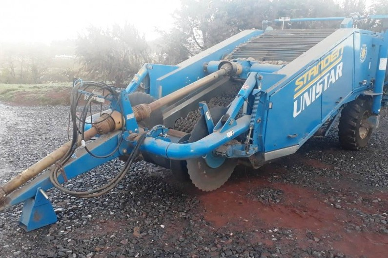 Used Standen Unistar Stone and Clod Separator 2