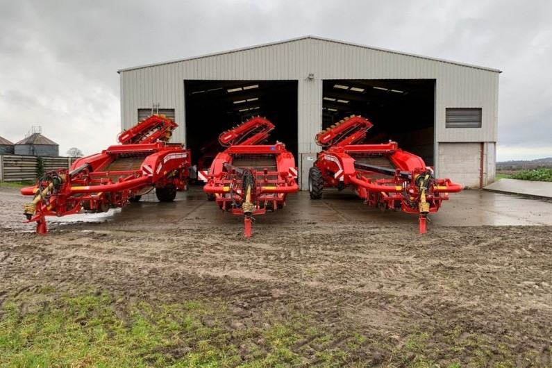 used-grimme-gt170-2-row-potato-harvester-2014
