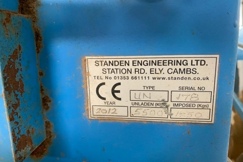 used-standen-unistar-stone-and-clod-separator-2012