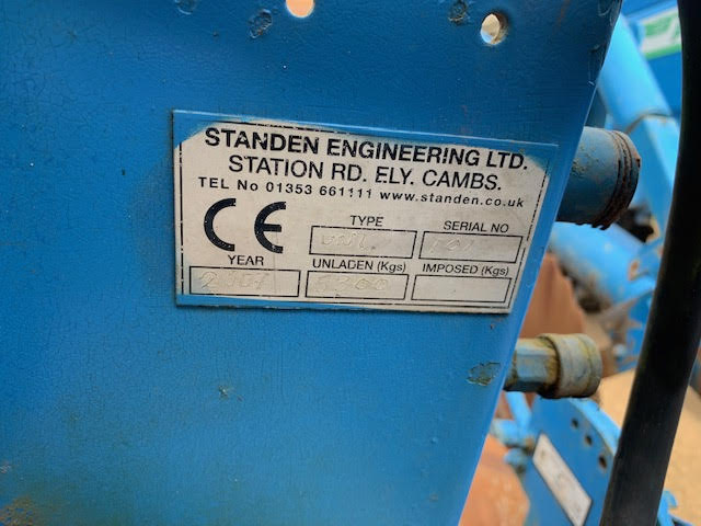 used-2007-standen-pearson-unistar-stone-and-clod-separator