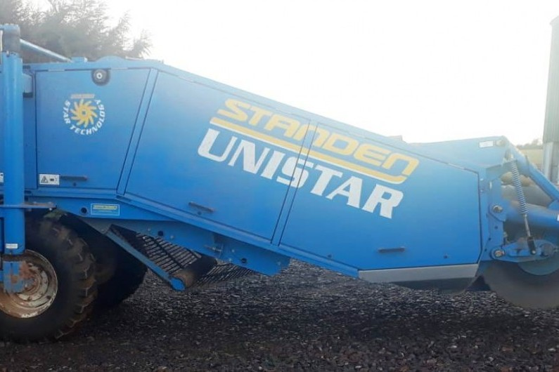 Used Standen Unistar Stone and Clod Separator