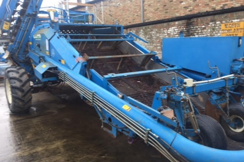Used Standen Pearson Potato Harvester