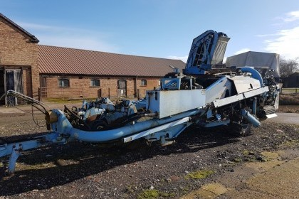 Thumbnail image for Used Pearson Enterprise 2 Row Harvester - breaking for parts
