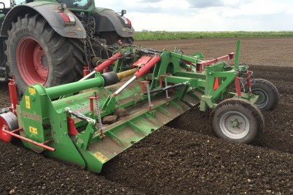 Thumbnail image for BASELIER Hydraulic Folding Full Width Rotary Hook Tine Cultivator