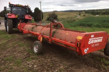 Thumbnail image for Used Grimme KS 5400 Six Row Haulm Topper