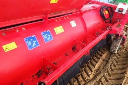 Thumbnail image for Used Grimme 4 row Haulm Topper KS3600 (2005)