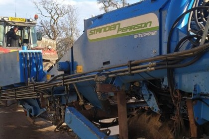 Thumbnail image for Used Standen Pearson Entreprise Harvester 2008