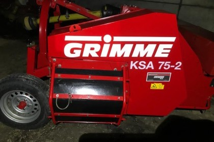Thumbnail image for Used Grimme KSA 75-2 2 Row Haulm Topper 2014