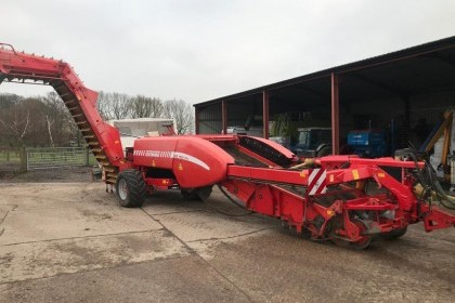 Thumbnail image for Used Grimme GZ 2 Row Potato Harvester