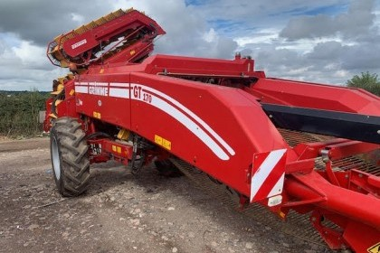 Thumbnail image for  Used Grimme GT170 2 Row Potato Harvester 2015