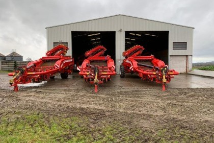 Thumbnail image for Used Grimme GT170 2 Row Potato Harvester 2013