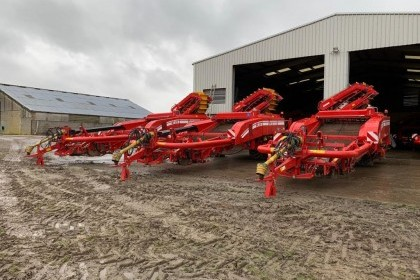 Thumbnail image for Used Grimme GT170 2 Row Potato Harvester 2014
