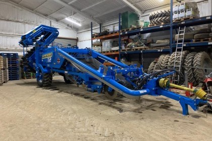 Thumbnail image for Used Standen T2 2 row potato harester 2020 253