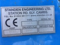 Used Standen Bedformer Serial No 431