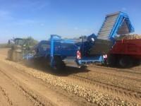 Standen T2 Harvester and trailer