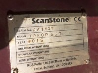 Scanstone Used Triple Bed Tiller 2015