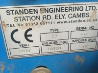 Standen Used T2 Harvester Double Omega 21