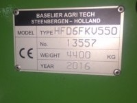 Baselier Hook Tine Cultivator from Standen Engineering serial number